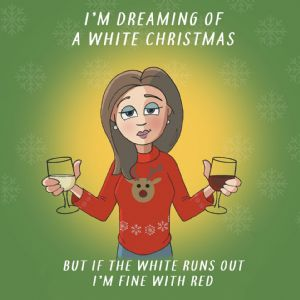 CANX46 – Christmas Card For Her All The Wines